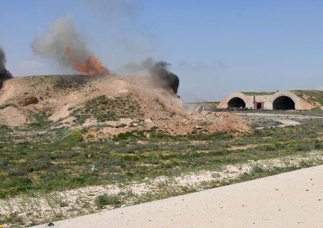 Následky útoku USA v Sýrii