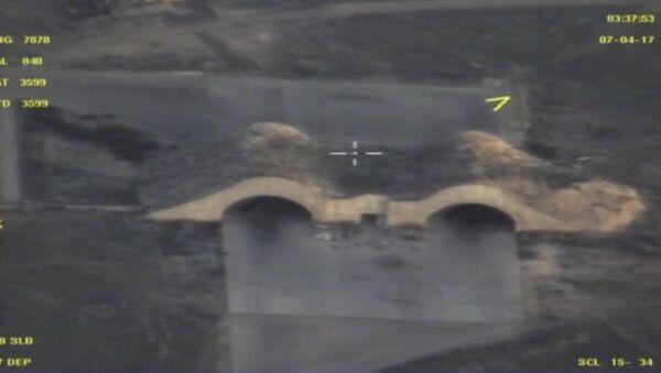 Letecká základna Sýrie z dronu - Sputnik Česká republika