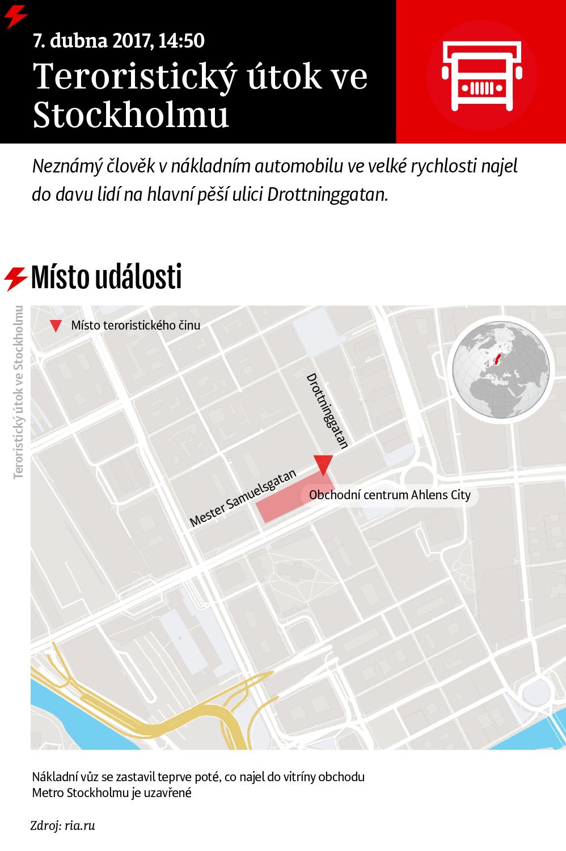 Teroristický útok ve Stockholmu