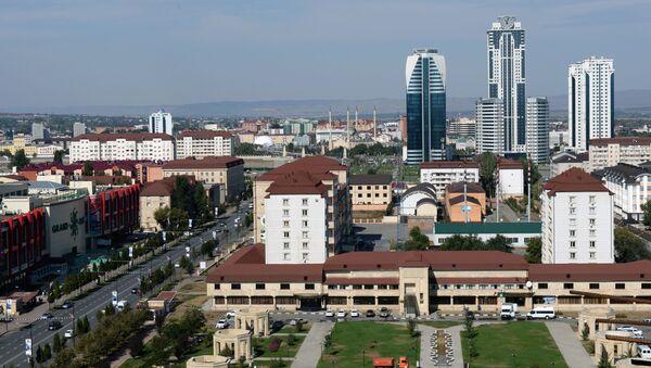 Groznyj, Čečensko - Sputnik Česká republika