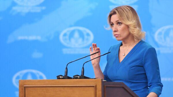 Oficiální zástupkyně MZV Ruska Maria Zacharovová [картинка] - Sputnik Česká republika