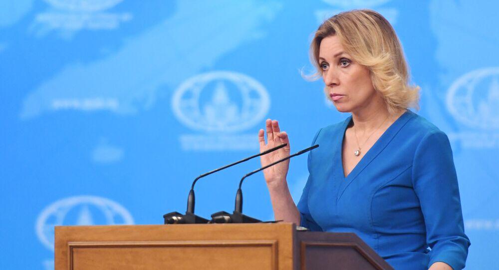Oficiální zástupkyně MZV Ruska Maria Zacharovová [картинка]