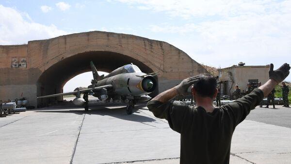 Syrská základna Šajrát - Sputnik Česká republika