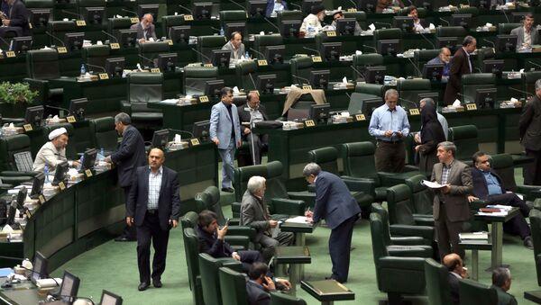 Parlament Íránu - Sputnik Česká republika