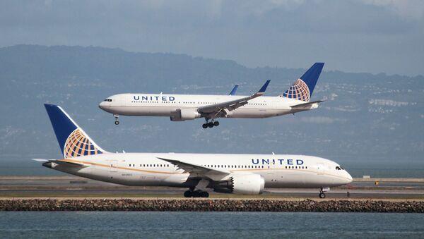 Letouny společnosti United Airlines - Sputnik Česká republika