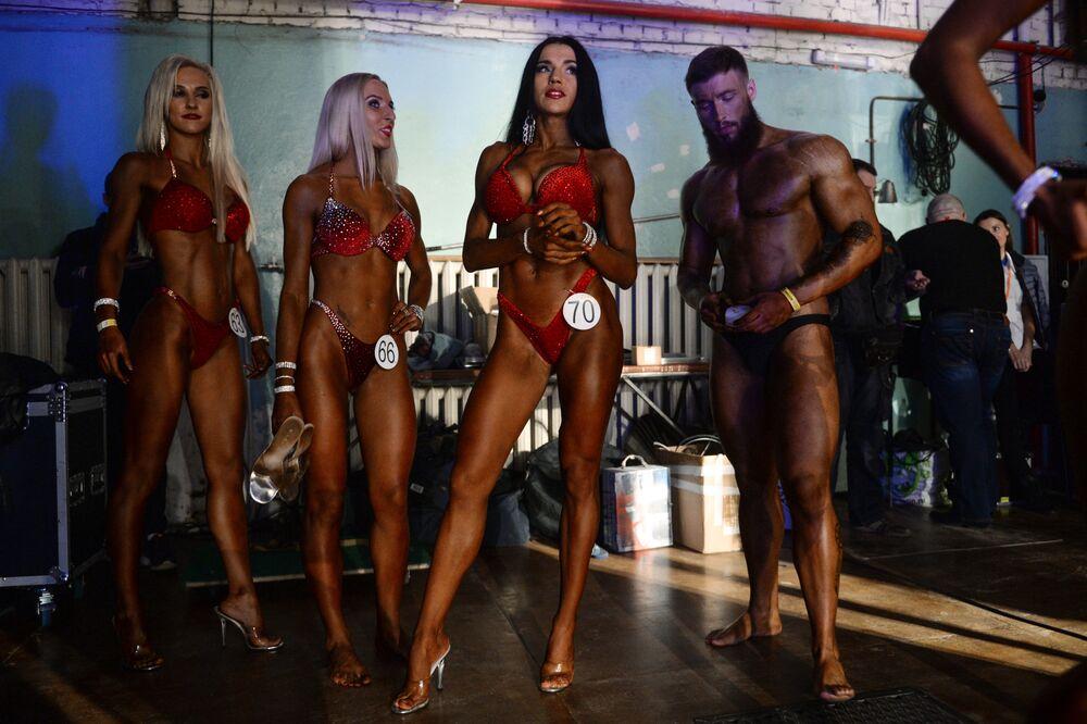 Mistrovství v bodybuildingu a fitnesu v Novosibirsku