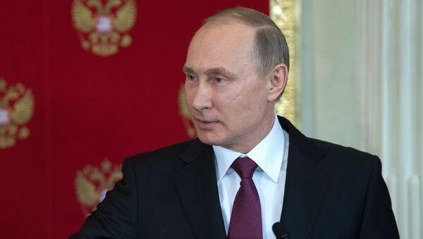 Президент РФ Владимир Путин - Sputnik Česká republika