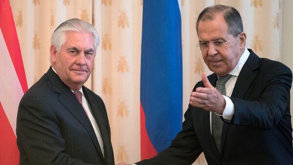 Rex Tillerson a Sergej Lavrov - Sputnik Česká republika