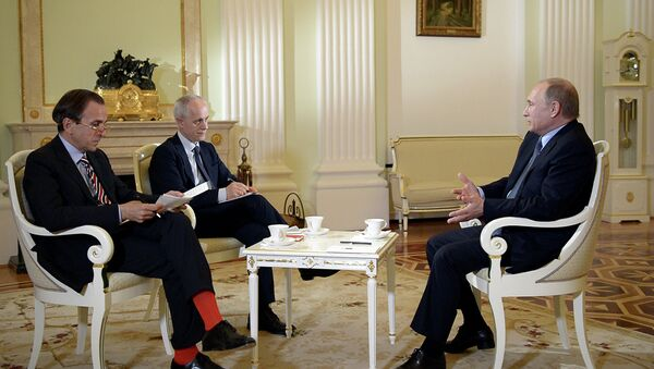 Interview Vladimira Putina pro italský list Il Corriere della Sera - Sputnik Česká republika
