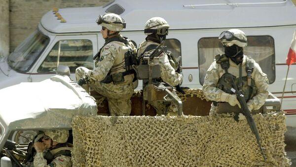 Polští vojáci v Iráku - Sputnik Česká republika