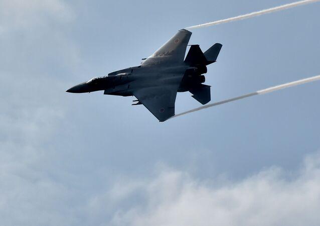 Japonská stíhačka F-15J Eagle