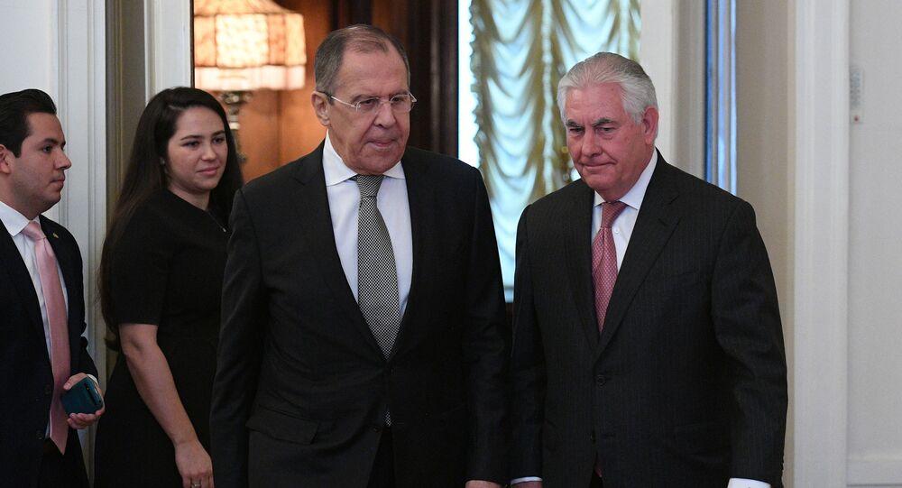 Jednání Lavrova a Tillersona