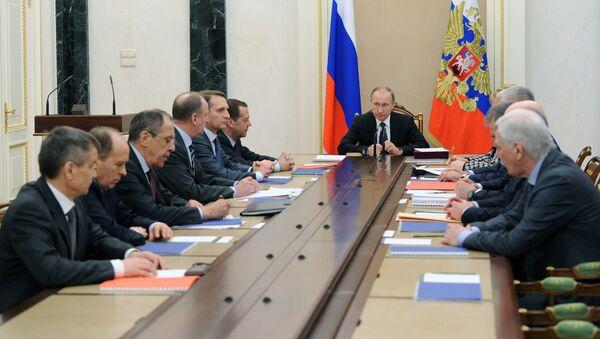 Zasedání Rady bezpečnosti RF - Sputnik Česká republika