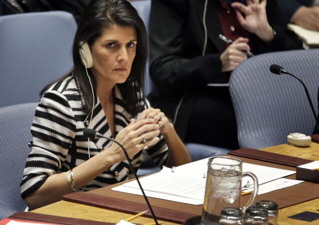 Stálá zástupkyně USA při OSN Nikky Haleyová