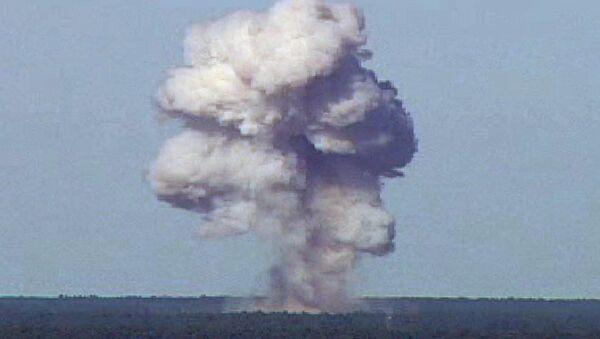 Zkouška bomby GBU-43 - Sputnik Česká republika