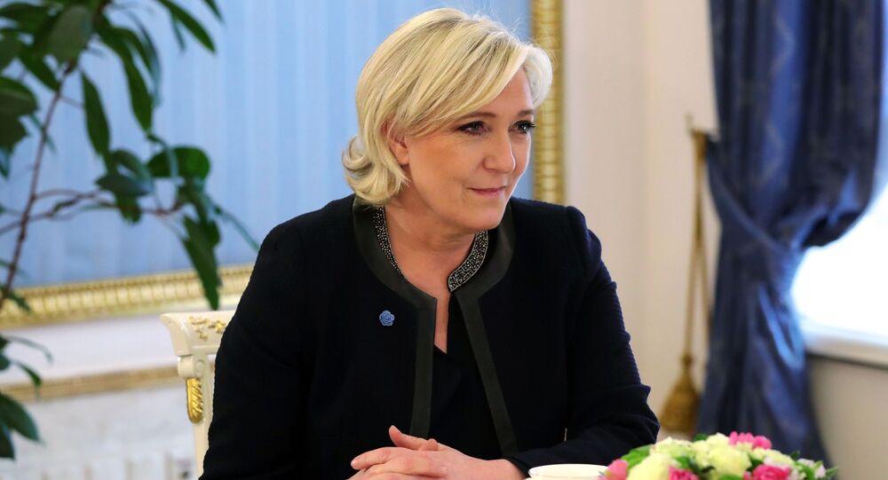 Kandidátka na post prezidenta Francie Marine Le Penová
