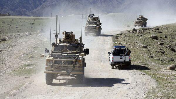 Hlídka amerických a afghánských vojáků - Sputnik Česká republika