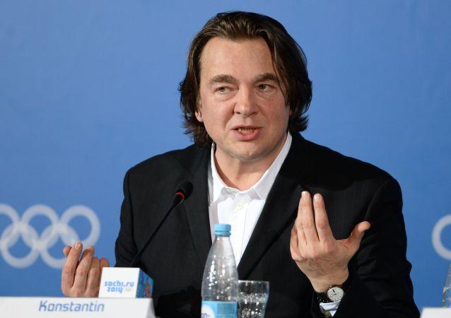 Generální ředitel Prvního kanálu Konstantin Ernst