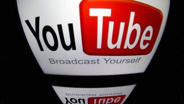Logo webu YouTube - Sputnik Česká republika