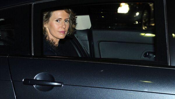 Manželka syrského prezidenta Bašára Asada Asma Asadová - Sputnik Česká republika