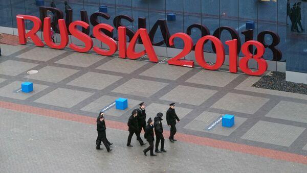 Logo Russia 2018 v Kaliningradu - Sputnik Česká republika
