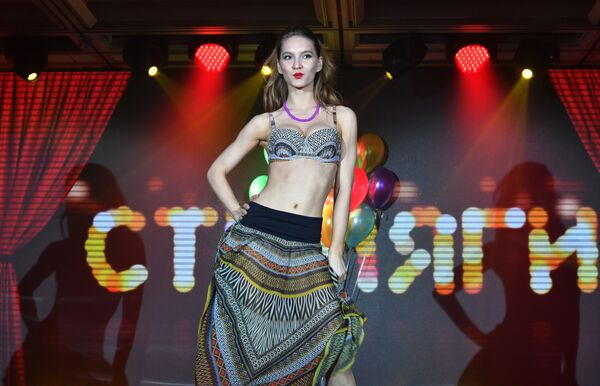 Módní defilé výstavy prádla Lingerie Fashion Week - Sputnik Česká republika