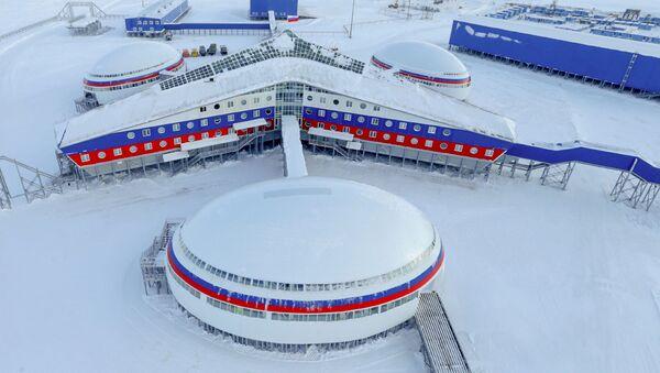 Ruská základna na ostrově Alexandřina země na souostroví Země Františka Josefa - Sputnik Česká republika