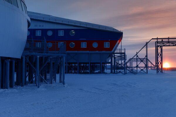 Základna Arktický trojlístek - Sputnik Česká republika
