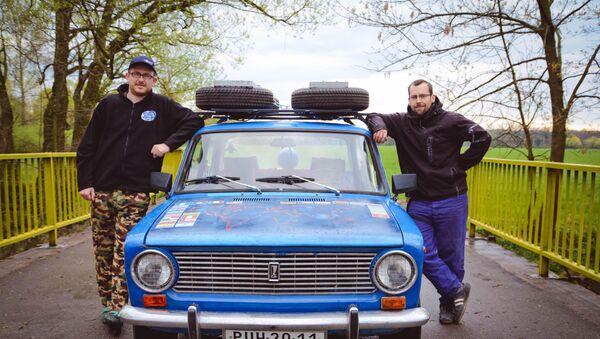 Dva čeští přátelé z Čestic na Rychnovsku – Petr Javůrek a Filip Vogel - Sputnik Česká republika