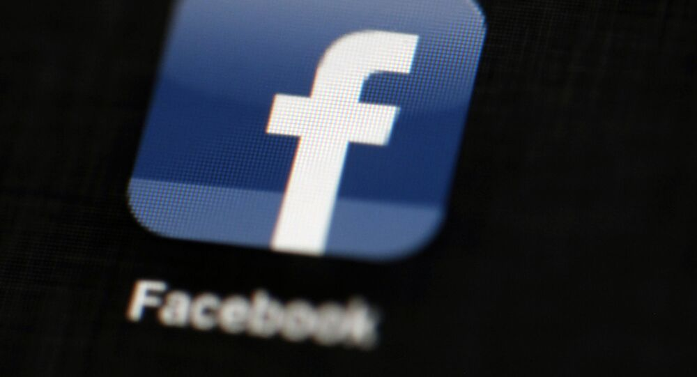 Logo sociální sítě Facebook