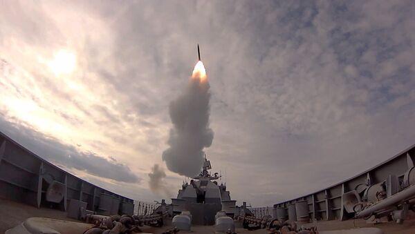 Záběry raketových sřeleb - Sputnik Česká republika