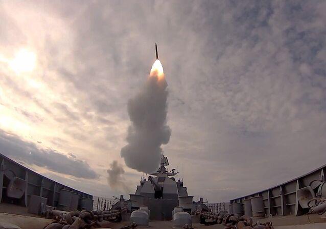 Záběry raketových sřeleb