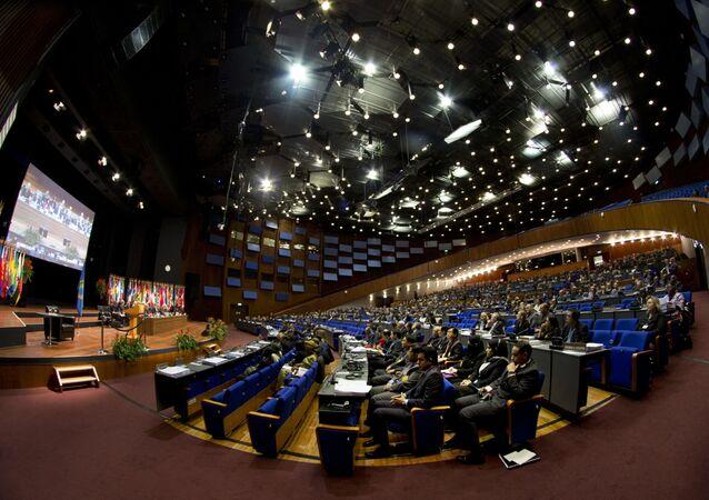 Zasedání Organizace pro zákaz chemických zbraní (OPCW)