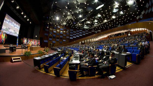 Zasedání Organizace pro zákaz chemických zbraní (OPCW) - Sputnik Česká republika