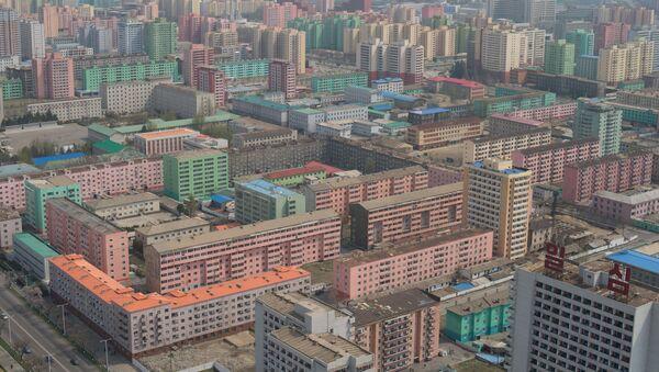Pohled na Pchjongjang, KLDR - Sputnik Česká republika