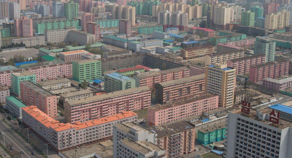 Pohled na Pchjongjang, KLDR