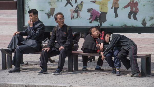 Obyvatelé Pchjongjangu - Sputnik Česká republika
