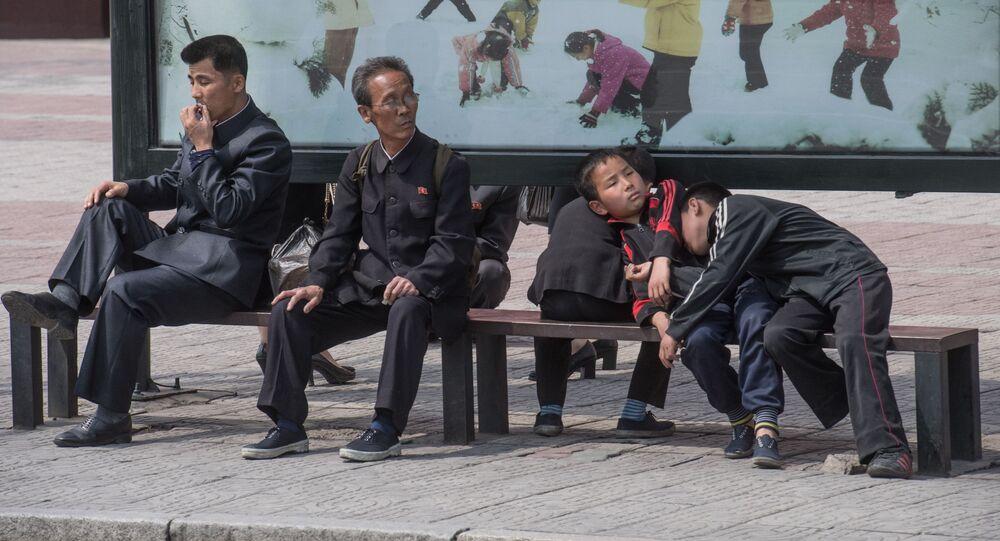 Obyvatelé Pchjongjangu