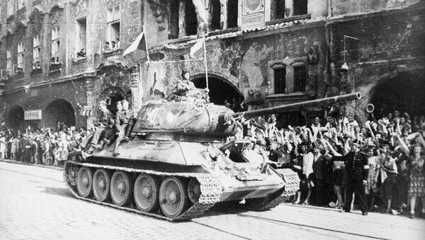 Osvobození Prahy Rudou armádou - Sputnik Česká republika