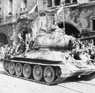 Osvobození Prahy sovětskými vojsky (7. - 12. května 1945)