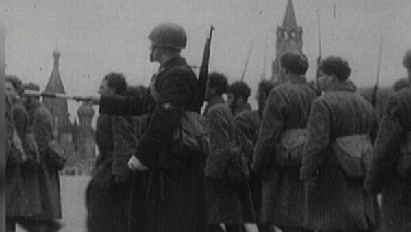 Archivní záběry. Bitva o Moskvu - Sputnik Česká republika