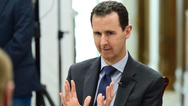 Prezident SAR Bašár Asad - Sputnik Česká republika
