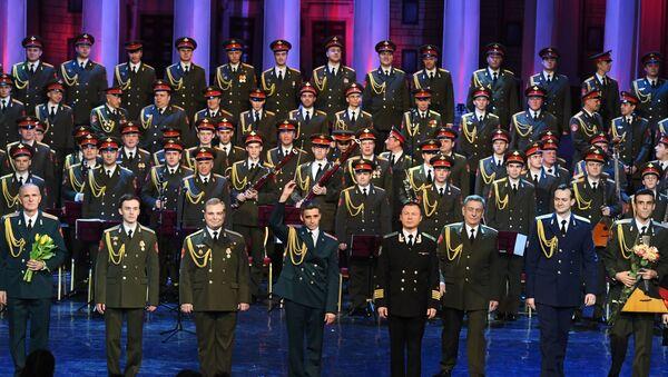 Akademický soubor písní a tanců Ruské armády A. V. Alexandrova - Sputnik Česká republika