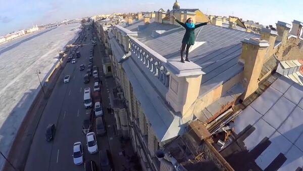 Střechy Petrohradu a Moskvy - Sputnik Česká republika