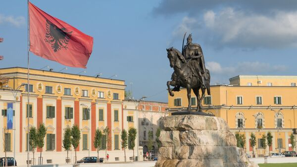 Tirana, Albánie - Sputnik Česká republika