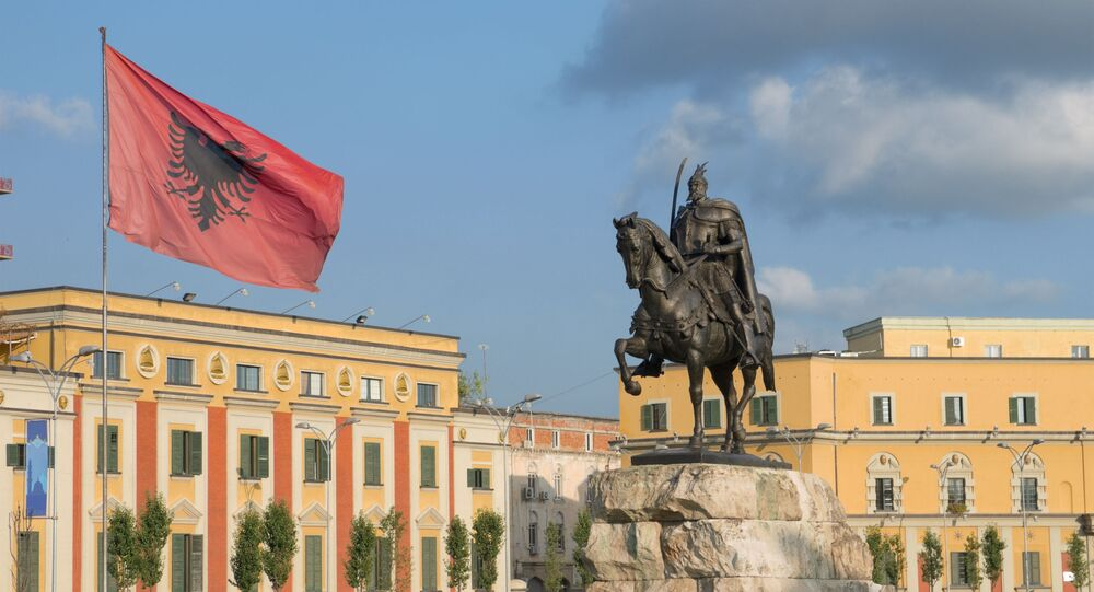 Tirana, Albánie