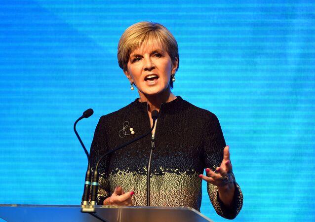 Australská ministryně zahraničí Julia Bishopová