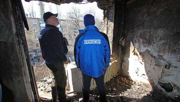 Mise OBSE v Doněcku - Sputnik Česká republika