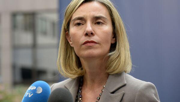 Zástupkyně EU pro zahraniční věci a bezpečnostní politiku Federica Mogheriniová - Sputnik Česká republika