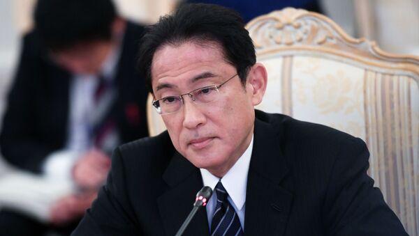 Ministr zahraničních věcí Japonska Fumio Kišida - Sputnik Česká republika
